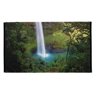 Beautiful Water Fall iPad Folio Covers