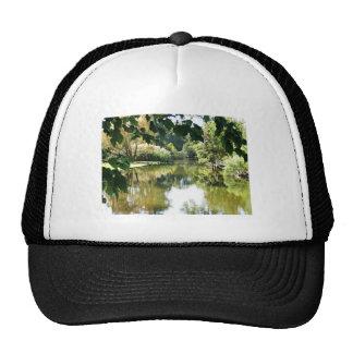 Beautiful water scene hat