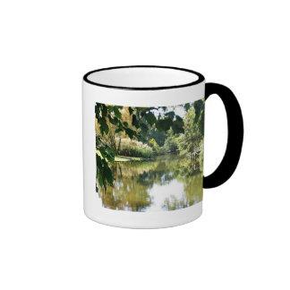 Beautiful water scene coffee mugs