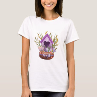 Beautiful  watercolor spring nest T-Shirt