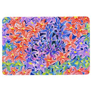 Beautiful Watercolour Floral Floor Mat