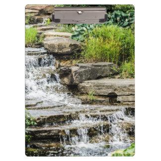 Beautiful Waterfall Clipboard