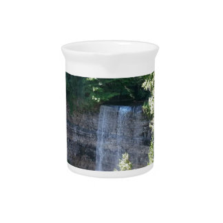 Beautiful Waterfall Drink Pitcher