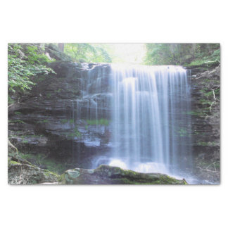 Beautiful Waterfall in Nature Tissue Paper
