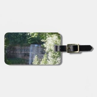 Beautiful Waterfall Luggage Tag