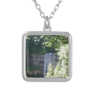 Beautiful Waterfall Silver Plated Necklace
