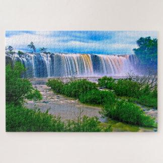 Beautiful Waterfalls Jigsaw Puzzle