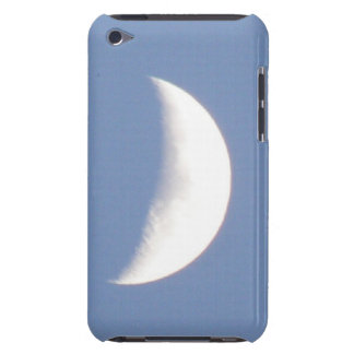 Beautiful Waxing Crescent Moon in Daylight iPod Ca iPod Touch Case-Mate Case