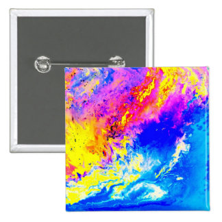 Beautiful weather 2 Inch Square Button
