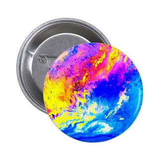 Beautiful weather 6 cm round badge