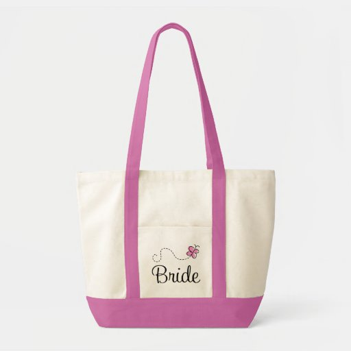 Beautiful Wedding Day Bride Tote Bag