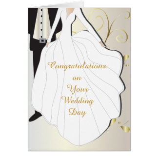 Beautiful Wedding Day Card