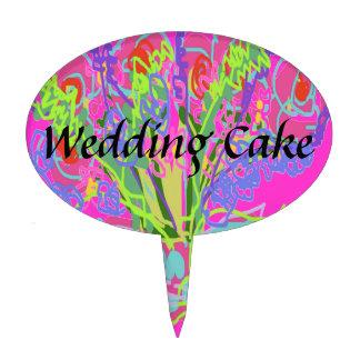Beautiful Wedding Designs Cake Pick