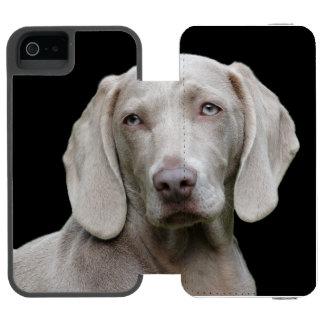 Beautiful Weimaraner Hunting Dog Incipio Watson™ iPhone 5 Wallet Case