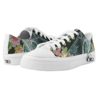 Beautiful whales low tops