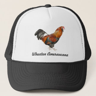 Beautiful Wheaten Ameraucana Chickens Trucker Hat