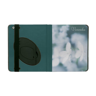 Beautiful white blossoms iPad cover