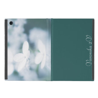 Beautiful white blossoms iPad mini case