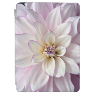 Beautiful white dahlia flower iPad air cover