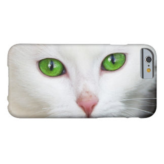 Beautiful white kitty cat kitten animal lover barely there iPhone 6 case