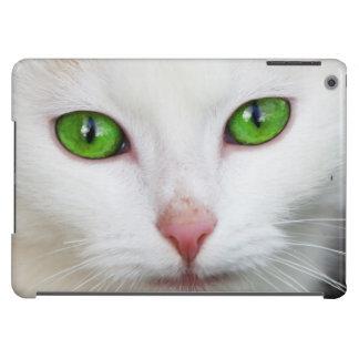 Beautiful white kitty cat kitten animal lover iPad air cases
