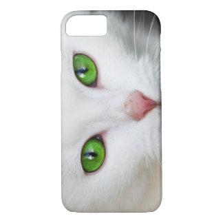 Beautiful white kitty cat kitten animal lover iPhone 7 case