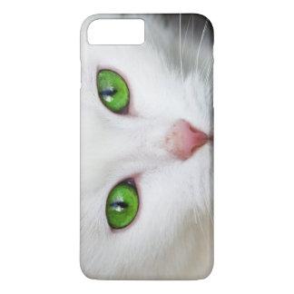 Beautiful white kitty cat kitten animal lover iPhone 7 plus case