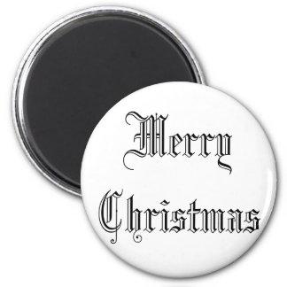 "Beautiful white magnet ""good Christma """
