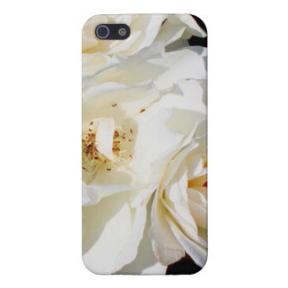 Beautiful white rose bouquet iPhone 5/5S cases