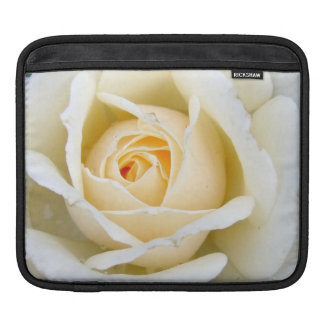 Beautiful White Rose Sleeves For iPads