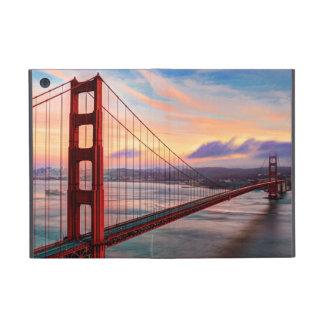 Beautiful winter sunset at Golden Gate Bridge Cases For iPad Mini