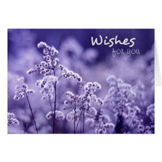 Beautiful Wishes Birthday Card