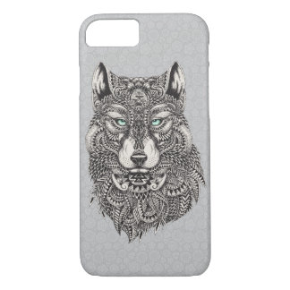 Beautiful Wolf, Abstract Illustration iPhone 8/7 Case