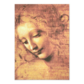 Beautiful Woman by Leonardo da Vinci Card