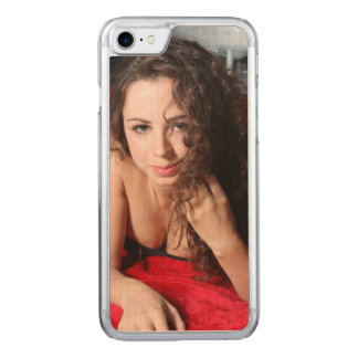 Beautiful Woman Carved iPhone 8/7 Case