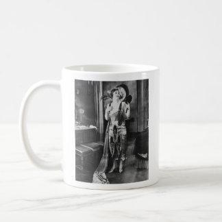 Beautiful Woman Flapper Dress 1920s Mugs