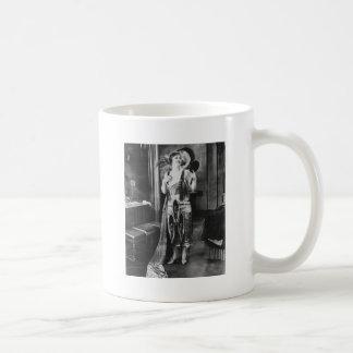Beautiful Woman Flapper Dress 1920s Coffee Mugs