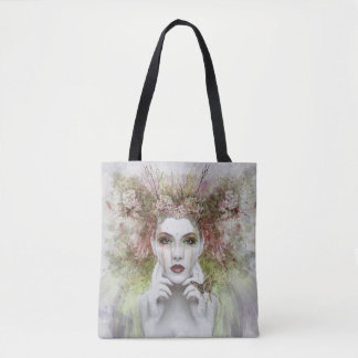 Beautiful Woman of the Woods Tote Bag