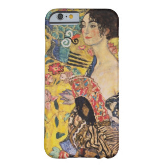 Beautiful Woman with Fan by Klimt Barely There iPhone 6 Case