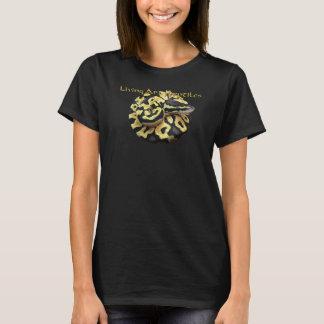 Beautiful women's Ball Python Snake shirt Black