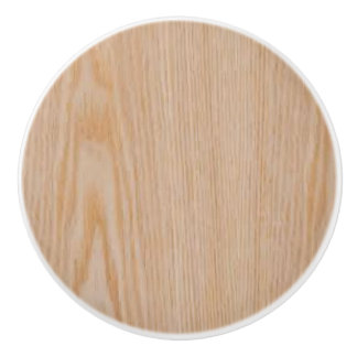 Beautiful Woodgrain pattern on a Ceramic Knob