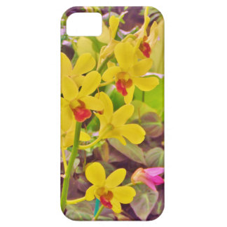 Beautiful Yellow autumn orchids iPhone 5 Cover
