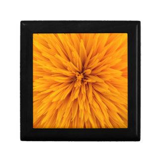 Beautiful Yellow Dahlia Flower Blossom Gift Box