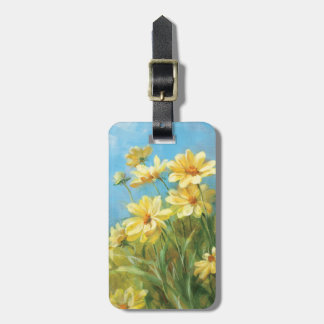Beautiful Yellow Daisies Bag Tag
