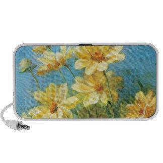 Beautiful Yellow Daisies iPhone Speakers