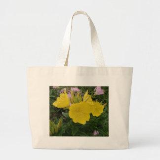 Beautiful Yellow Flower Canvas Bag