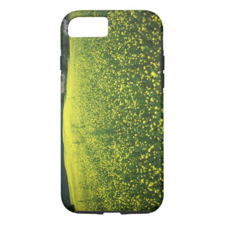 Beautiful yellow flower covered fields of San iPhone 7 Case