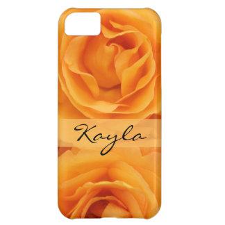Beautiful Yellow Orange Hybrid Tea Roses iPhone 5C Case