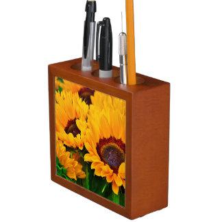 Beautiful Yellow Orange Sunflower Organizer