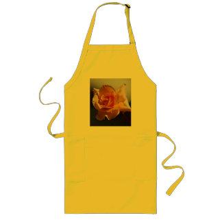 Beautiful yellow rose aprons